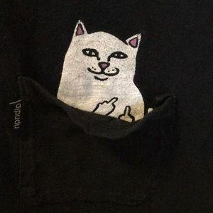 RIPNDIP T-shirt bad kitty in the pocket ;)